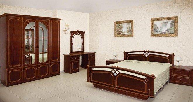 Набор мебели для спальни «Нимфа»