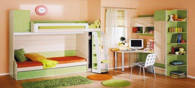 Детская комната Киви