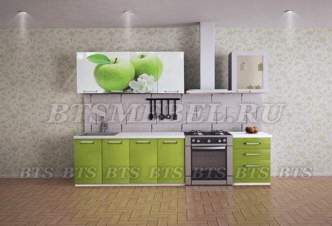 """Кухня """"Яблоко"""" BTS"""
