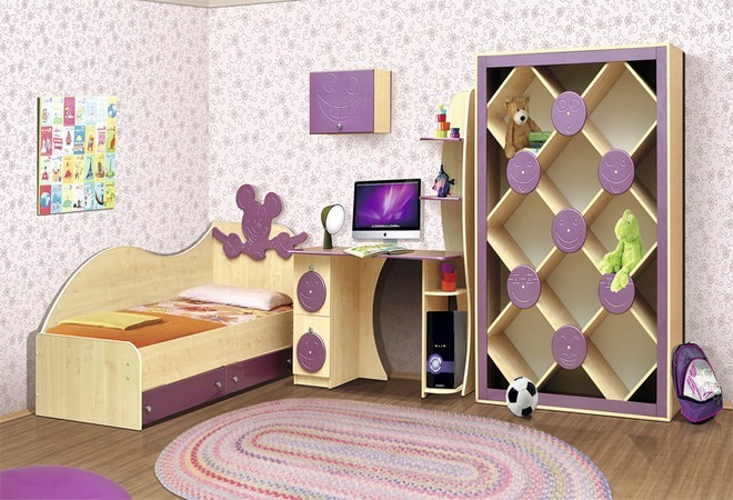 Набор мебели для детской Vitamin K от мебельной фабрики Пирамида