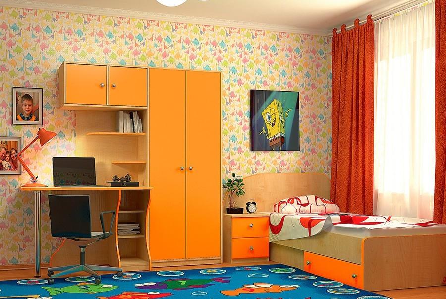 """Комплект мебели """"Vitamin R"""" разработан для детской комнаты"""