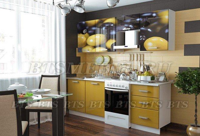 "Кухня ""Олива"" 2.1 м, BTS"