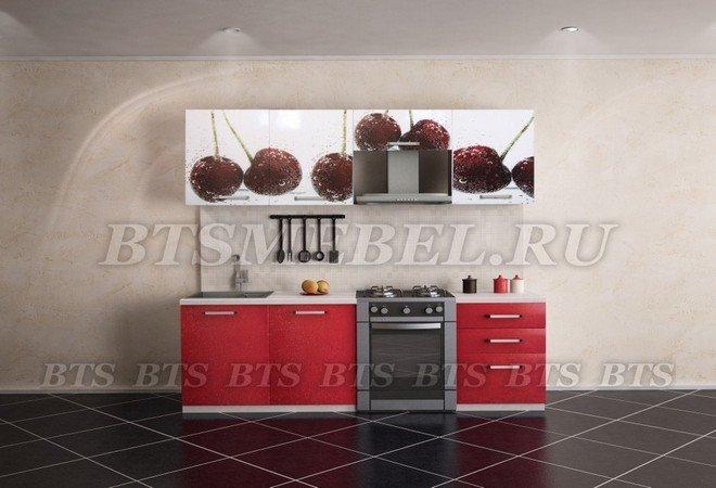 """Кухня """"Вишня"""" 2.1 м, BTS"""