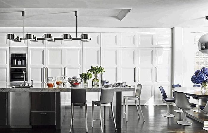 Кухонные шкафы от пола до потолка