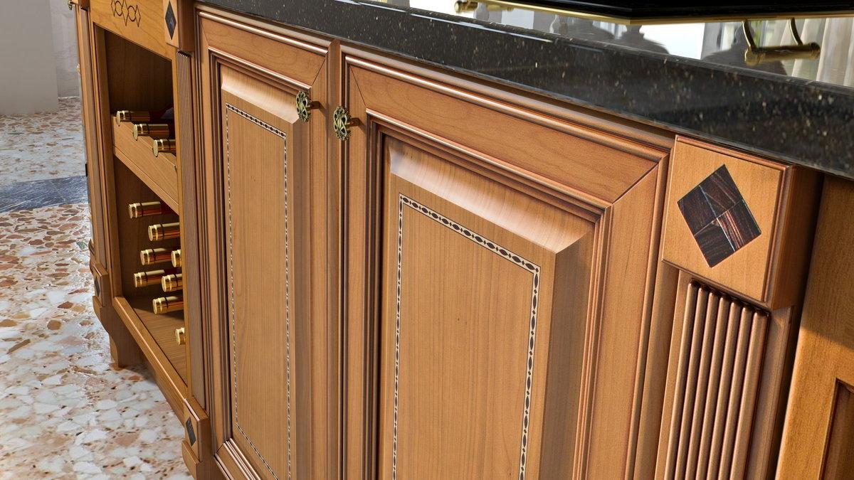 Шкафы построены в одном из 2-х различных стилей дизайна: филёнчатые или безрамные