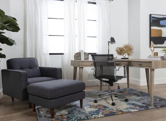 Чем уютнее домашний офис, тем креативнее рабочий процесс